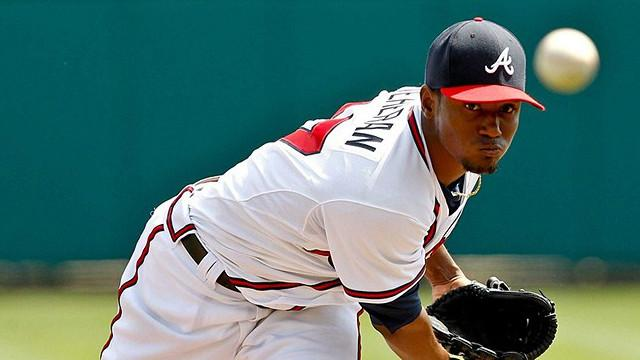 Julio Teheran is the number one prospect in the Braves system.