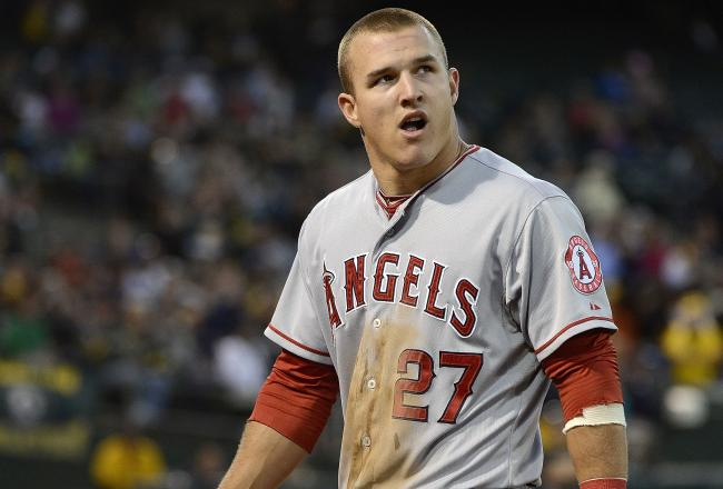 Mike Trout, spectacular in 2012, is looked to for an equally as good 2013 for the Angels