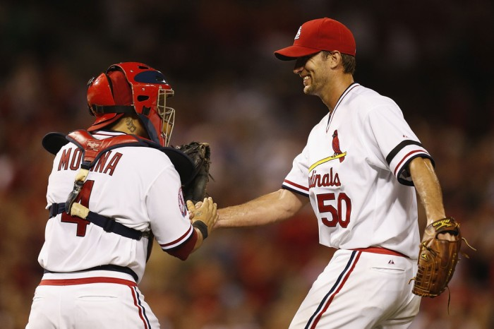 Adam+Wainwright+Yadier+Molina+Milwaukee+Brewers+G_KYXJRt6yyx