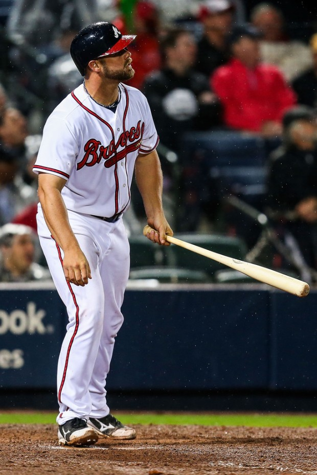 Evan Gattis has been key to the Braves early success this season (Daniel Shirey/Getty Images North America)