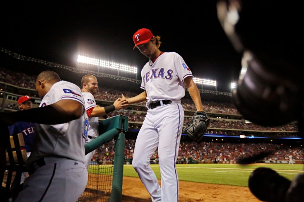 Yu Darvish and the Rangers are rolling early in 2013, but Oakland still looms