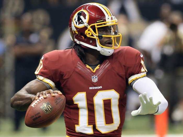 Robert Griffin III was sensational year one, which is why it pains me to take a pass on him year two