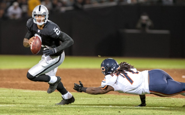 Terrell Pryor has played his way into QB1 conversation, but steer clear of Matt Flynn if Pryor is out week 4