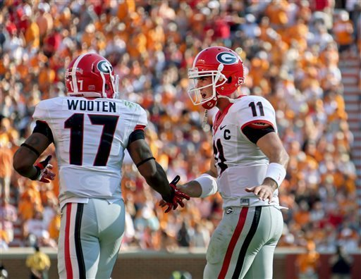 Redemption is the word of the year in Georgia. Aaron Murray is making sure of it.