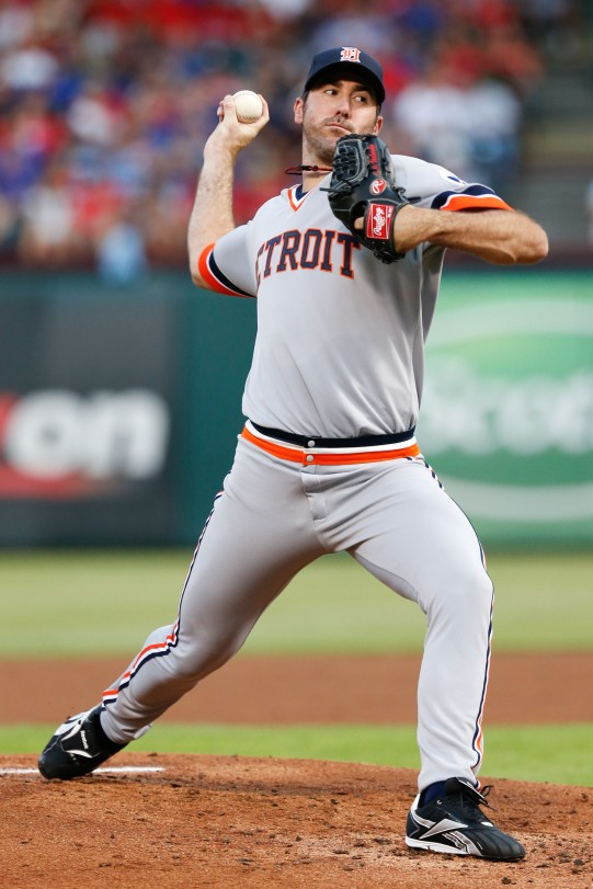 Justin Verlander's 2013 was marked by up and down months, yet he still remains  the man on the hill in Detroit in 2014
