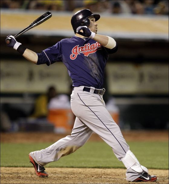 Jason Kipnis was an All-Star in 2013 (17 HR, .284 BA, .366 OBP, 30 SB) and the best second basemen in baseball not named Robinson Cano
