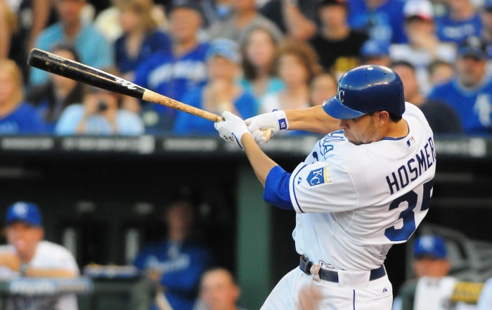 Eric Hosmer (17 HR, 79 RBI, .302 BA, .353 OBP in 2013) looks primed to lead the Royals to the postseason in 2014