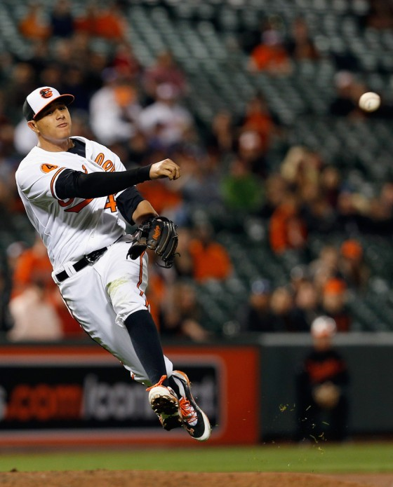 Manny Machado's 2013 was cut short by injury (14 HR, 71 RBI, 51 2B, .283 BA) but at age 21 he's and the Orioles are contenders in 2014