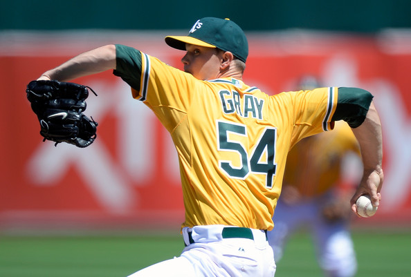 Sonny Gray will look to lead the A's to a third consecutive AL West Crown (Thearon W. Henderson/Getty Images North America)
