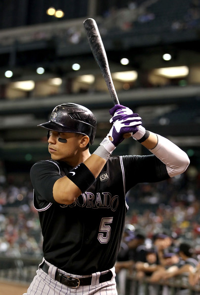 Carlos Gonzalez (26 HR, 70 RBI, 21 SB, .302 BA, .367 OBP) leads a potent Colorado offense. That offense will try to offset the pitching deficiencies in 2014