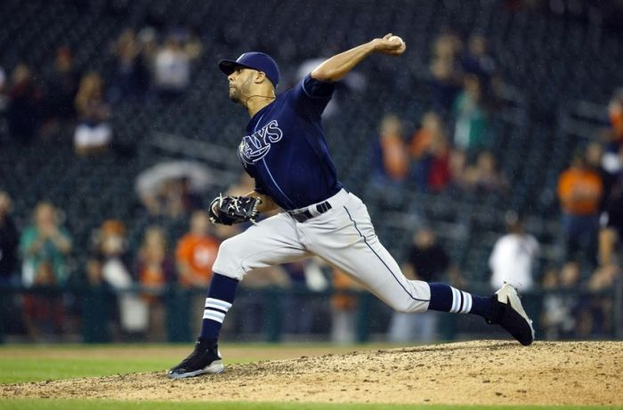 David Price (11-8, 3.11 ERA, 189 K's) joins Justin Verlander and Max Scherzer in a loaded Detroit Tigers rotation