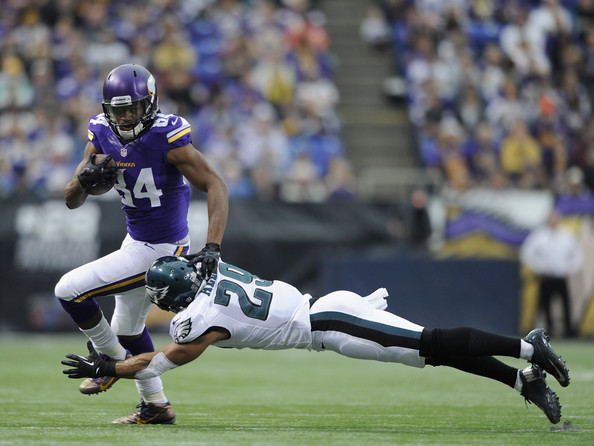 Cordarrelle Patterson had 2,020 All-Purpose Yards and 9 total touchdowns in 2013.