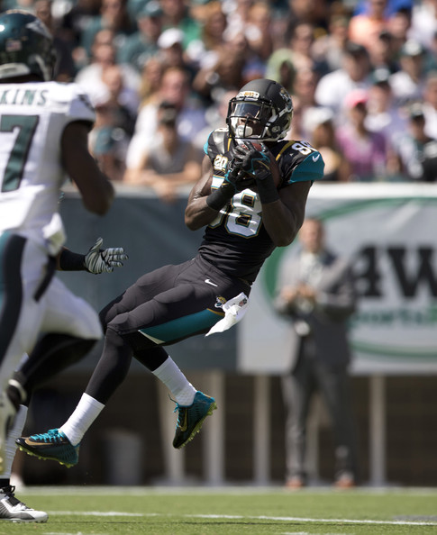 Allen Hurns debut (110 yards, 2 TD's) has created quite the buzz. Should you buy it? (Mitchell Leff/Getty Images North America)