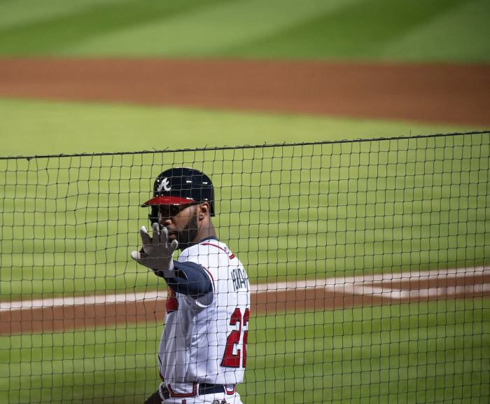 Jason Heyward produced a 6.4 Wins Above Replacement (WAR) in 2014 and won his second consecutive Rawlings Gold Glove in Right Field (Photo Credit: Atlanta Braves Official Facebook Page)