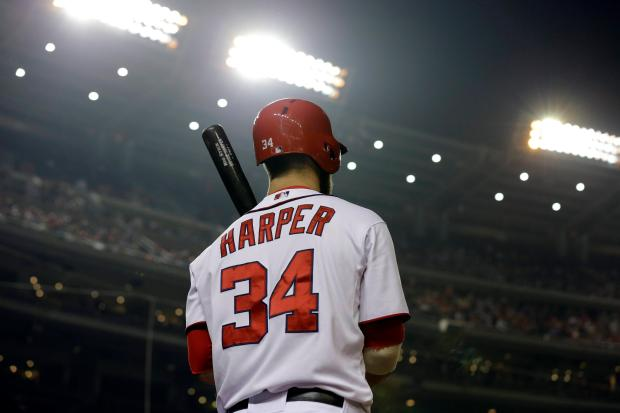 "Bryce Harper (55 HR, .272 BA, .816 OPS) has put up solid numbers in his first three seasons. Unfortunately 2015 will need to be even better to buck the ""Overrated"" label levied by his peers."