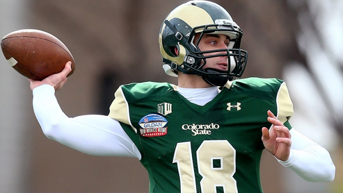 Garrett Grayson was a top-10 Quarterback in passing yards, efficiency, and touchdowns his seniior season at Colorado State. Will that translate to NFL success?