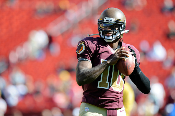 Robert Griffin III had his fifth-year player option picked up this week. Now they're really on the clock.