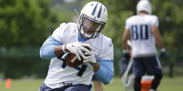 David Cobb has an opportunity in Tennessee that could turn out to be a boon for fantasy owners in 2015 (Photo: Bleacher Report)