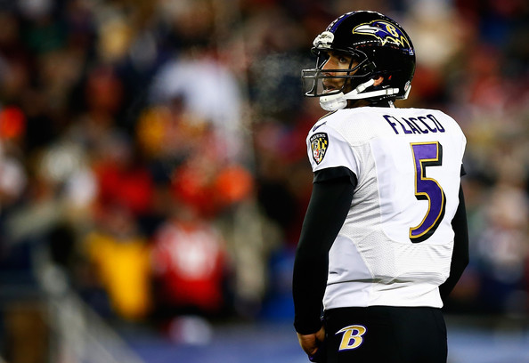 Since 2010 Joe Flacco has thrown for 2,563 yards and 24 touchdowns in the postseason. I have a feeling 2015 is gonna be a special one for Baltimore. (Jared Wickerham/Getty Images North America)