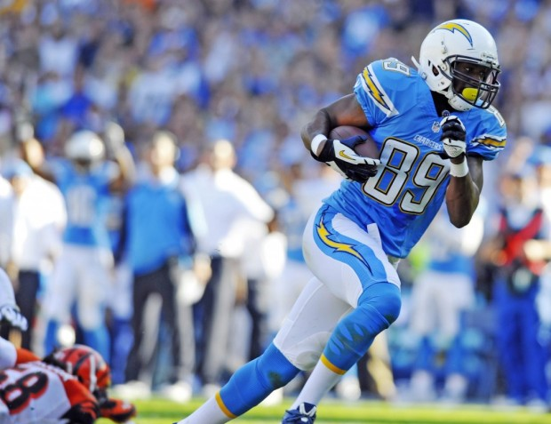 With Antonio Gates serving a four-game suspension, Green's talent could propel him to fantasy super stardom. (Christopher Hanewinckel/USA Today sports)