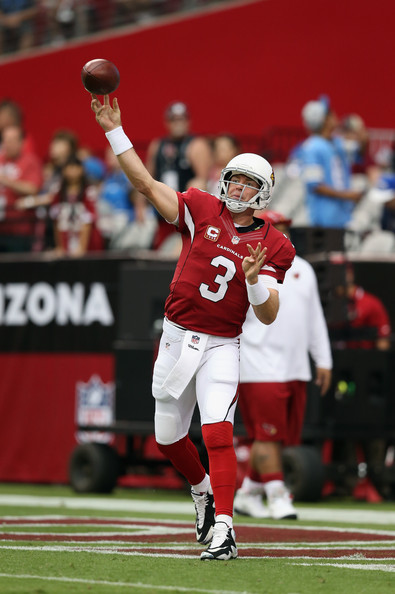 Carson Palmer's health is the key for Arizona to go from playoff afterthought to Super Bowl contender.(Jeff Gross/Getty Images North America)