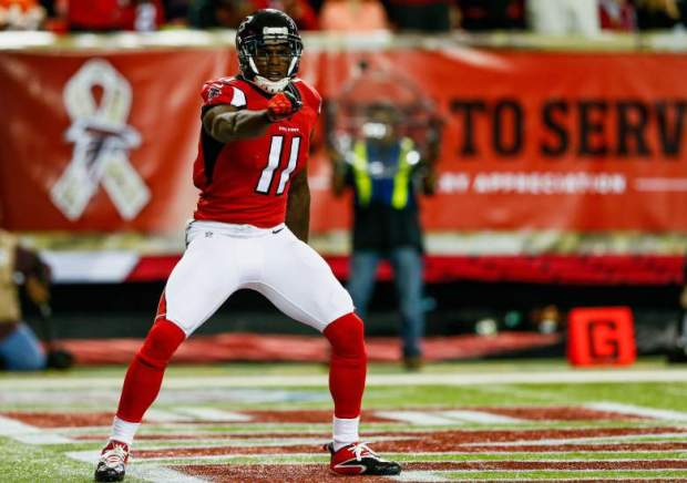 Julio Jones posted 1,593 yards and six touchdowns in 2014. Many believe 2015 can be even greater. (Photo/Getty Images)