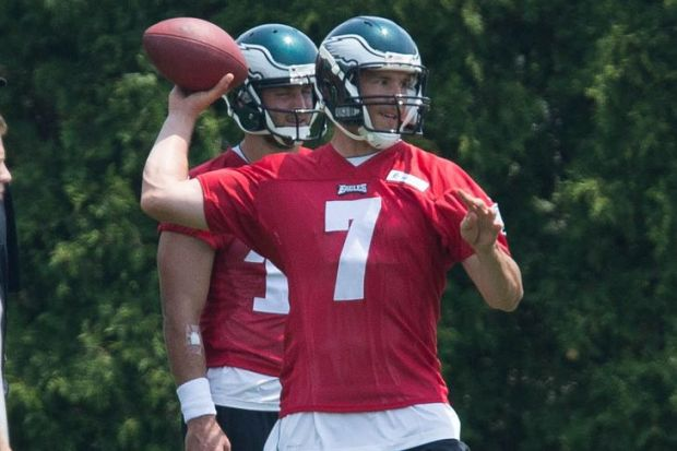 Sam Bradford and the Eagles look ready to make big things happen in 2015 (Bill Streicher/USA TODAY Sports)