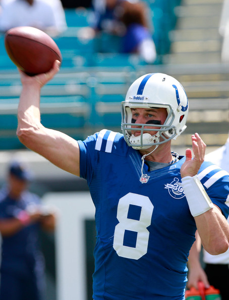 Do not, I repeat, do not be afraid to take a chance on Matt Hasselbeck tonight against the Texans. (Photo: Sam Greenwood/Getty Images North America)
